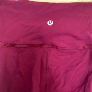 lululemon athletica Pants - Lululemon size 6 mesh detail pants